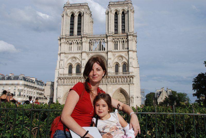 Tarde de verano en Notre Dame