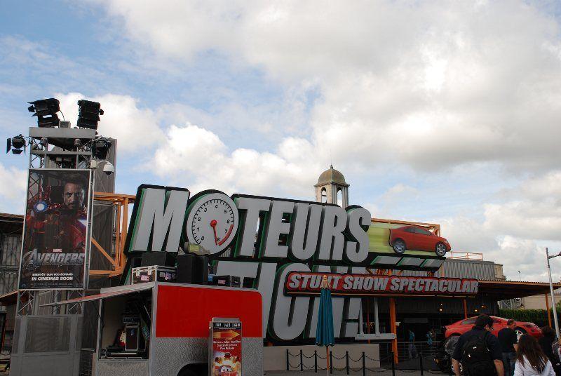 Moteurs Stunt Show