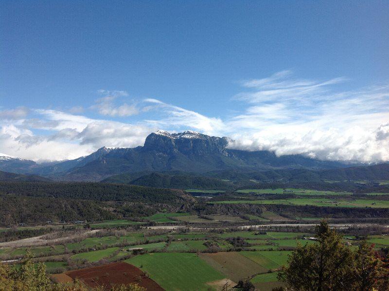 La Peña Montañesa desde Guaso