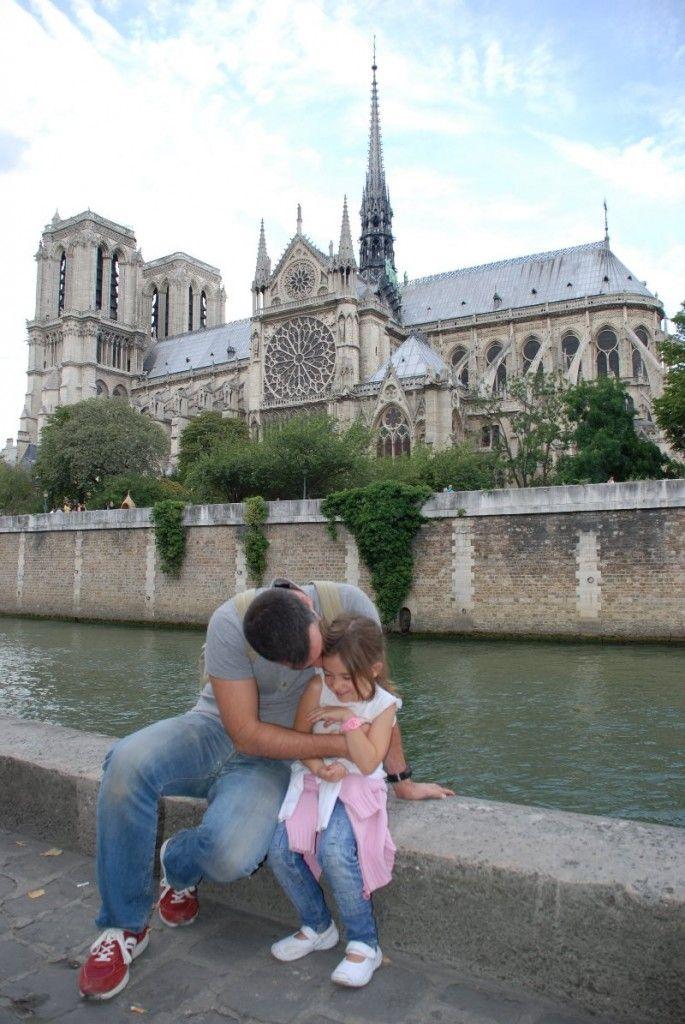 A Martina le encantó Notre Dame