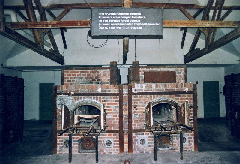 Horno crematorio de Dachau