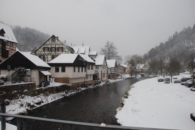 El Kinztal a su paso por Schiltach
