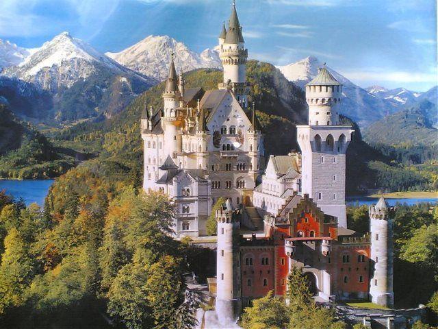 El castillo desde fuera hasta dentro