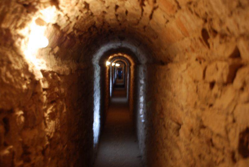 Túneles del castillo