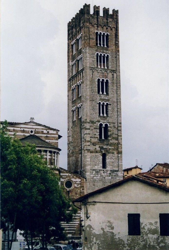 Catedral de San Martino desde Casa Guinigi