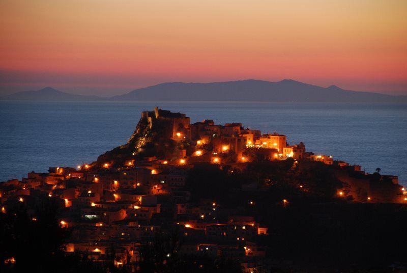 Anochecer en Castelsardo