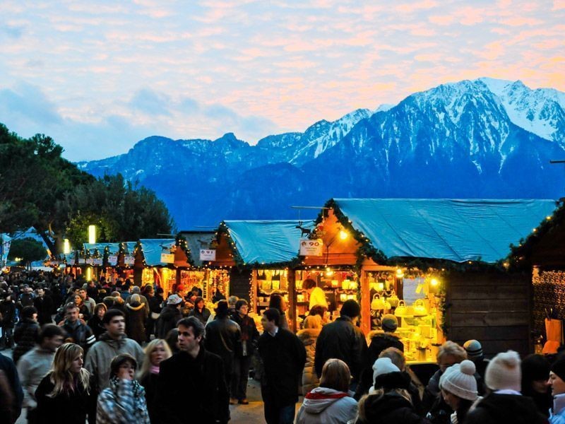Mercado de Navidad de Montreux