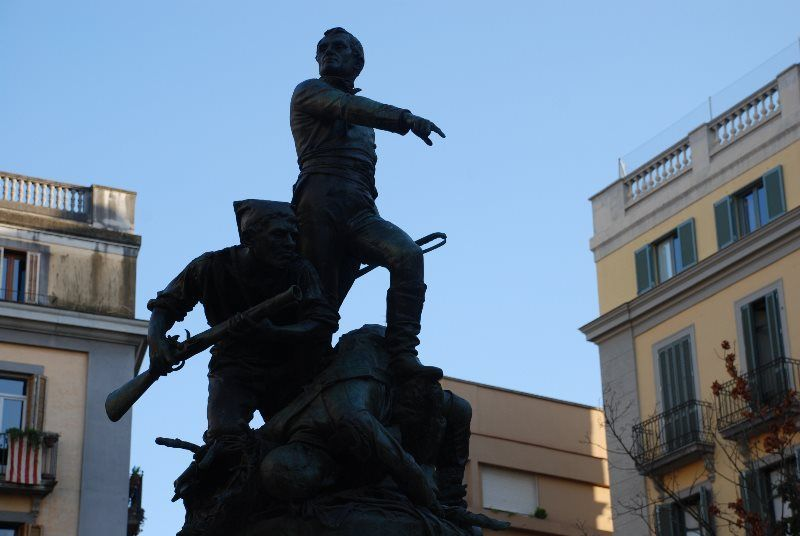 Homenaje a los defensores de la ciudad contra el invasor francés