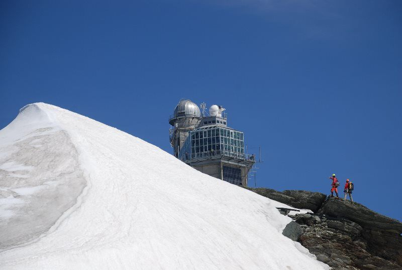 La esfinge en Jungfraujoch