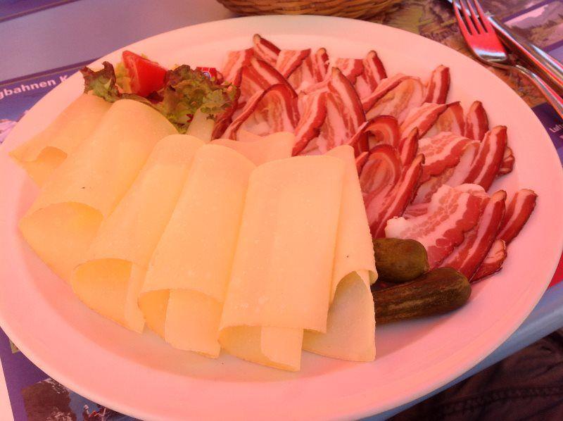 Qué comer en los alpes suizos