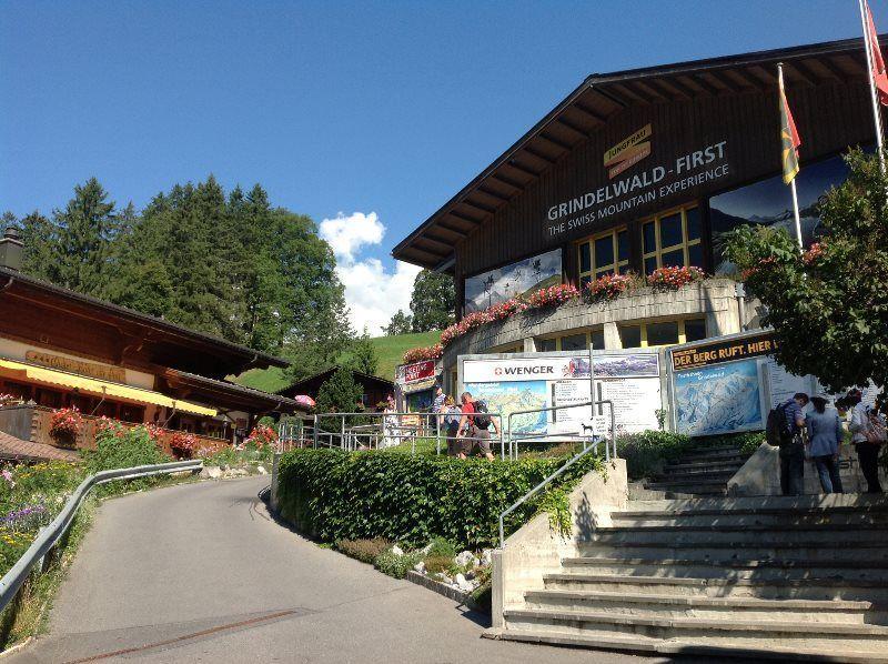 Estación del teleférico en Grindelwald