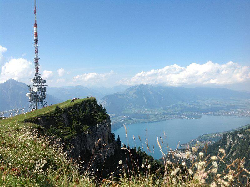 Lago de Thun desde el Niederhorn