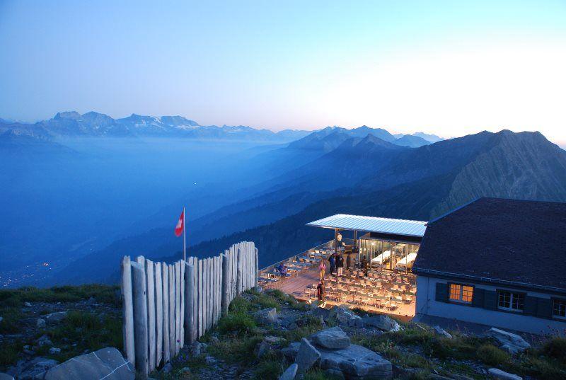 El fantástico hotel-restaurante del Niesen