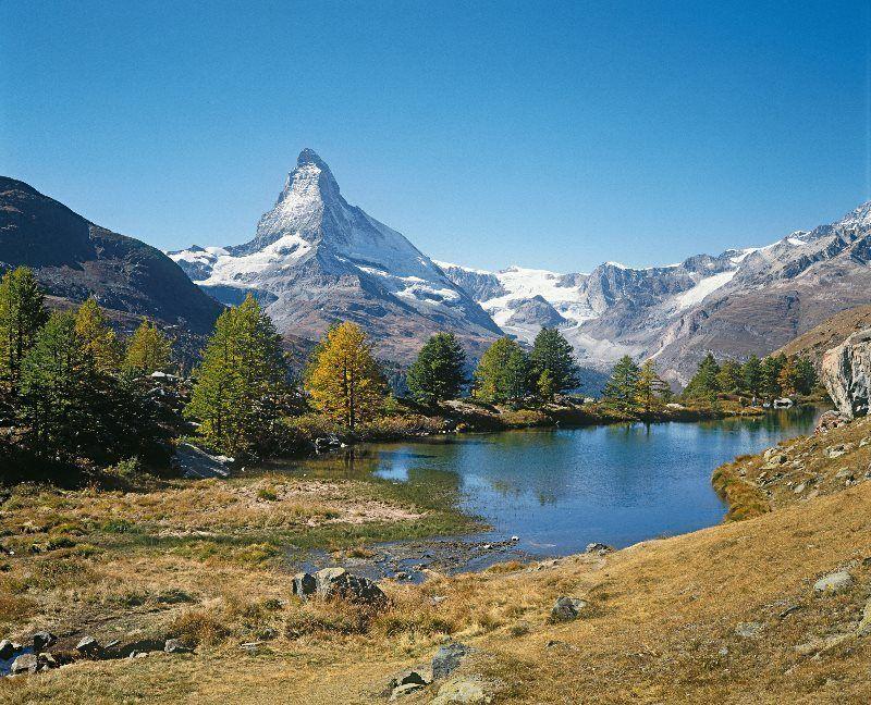 Lago Grindjisee, cortesía de ST/Swissimage