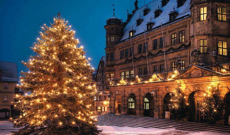 Mercado de Navidad de Rothenburg ob der Tauber