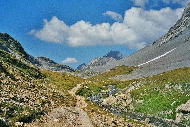 Hacia el col de la Vanoise