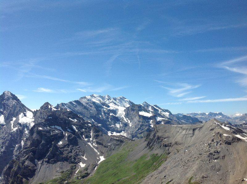 Los Alpes desde el Schilthorn
