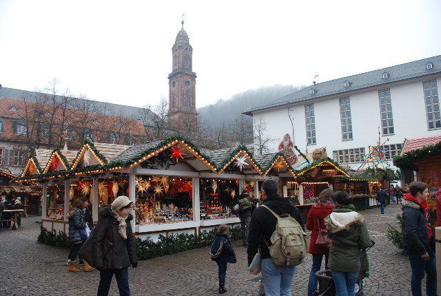 Mercado de Adviento de Heidelberg