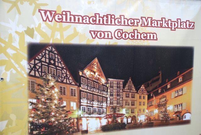 Cartel del Mercado de Navidad de Cochem