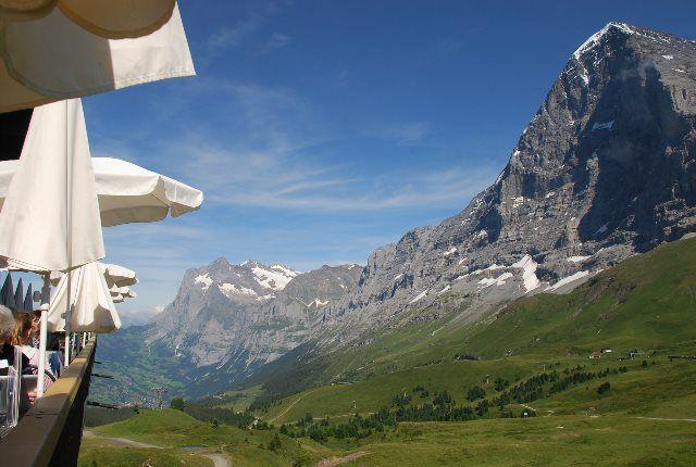 La cara norte del Eiger