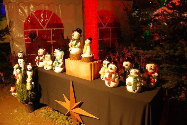 Decoración navideña en el Castillo de Heidelberg
