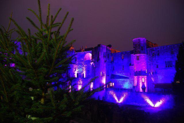 Juegos de luces en el castillo de Heidelberg