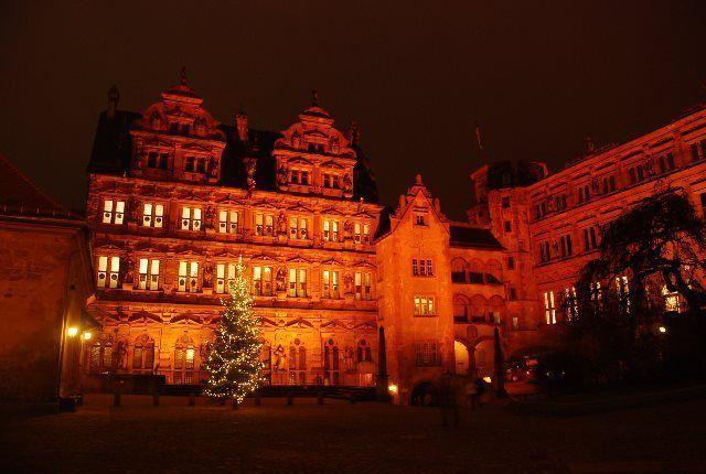 Navidad en el Castillo de Heidelberg