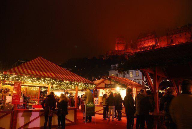 El castillo desde la Karlsplatz
