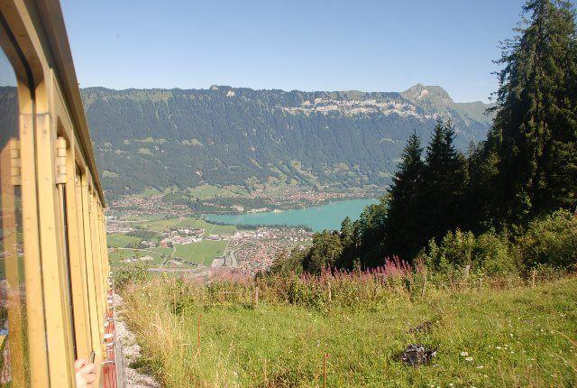 Vistas del lago de Brienz