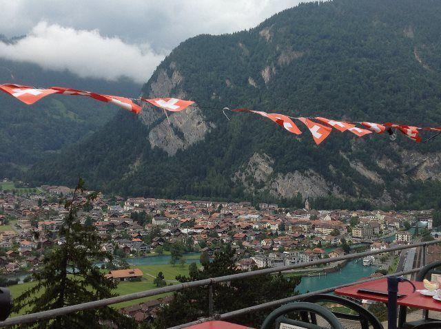 Interlaken desde la terraza de Heimwehfluh