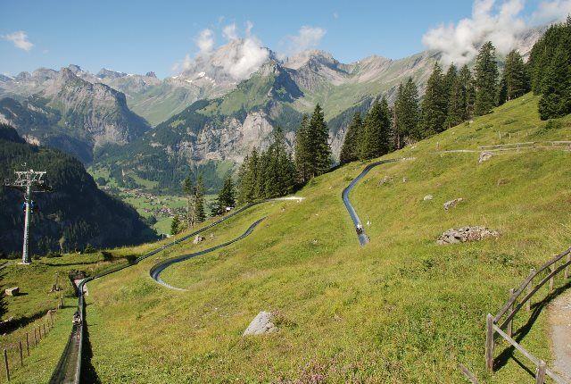 Los mejores toboganes de los Alpes de Berna