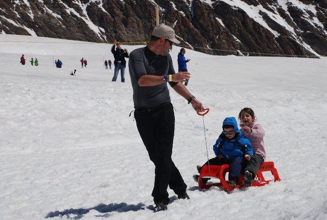 Snow Fun en el Jungfraujoch