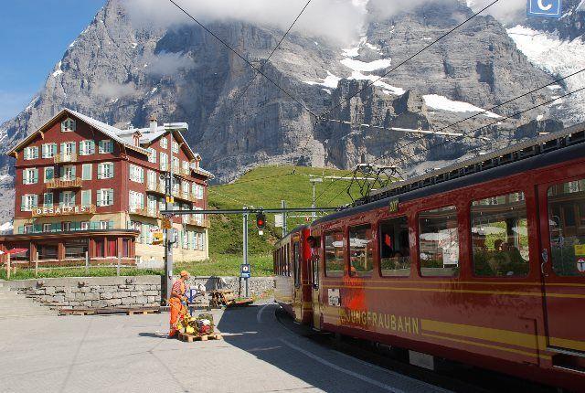 El tren del Jungfrau