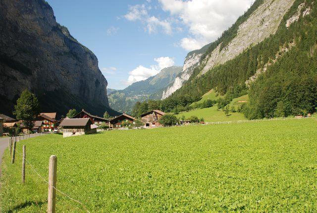 Uno de los valles más bonitos de los Alpes