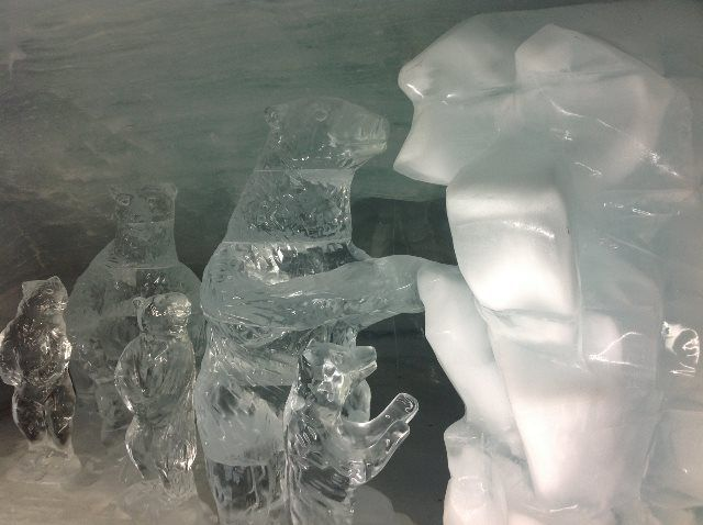 Osos en el Palacio de hielo