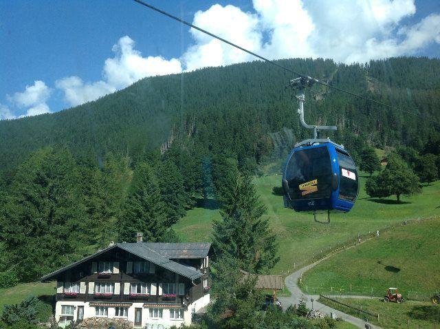 El teleférico de Grindelwald a First