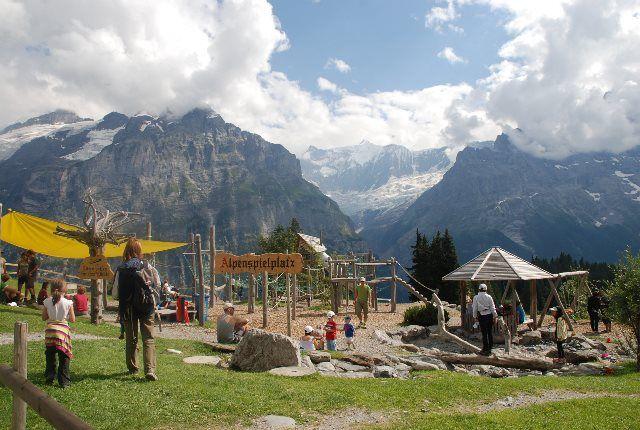 Los mejores parques infantiles de los Alpes berneses