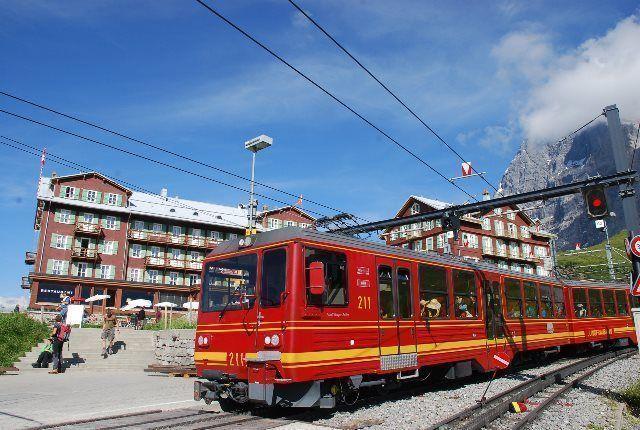 Trenes de montaña de Interlaken