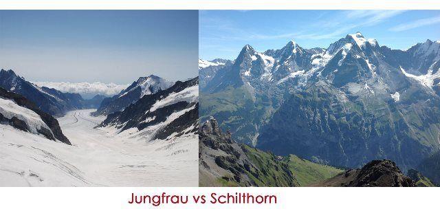 Jungfrau o Schilthorn