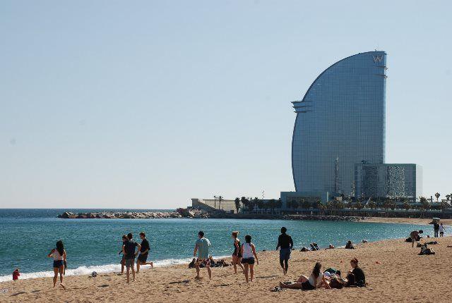 Playa de Sant Sebastià