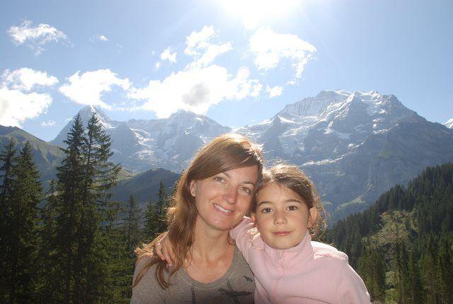 Isa y Martina en Winteregg