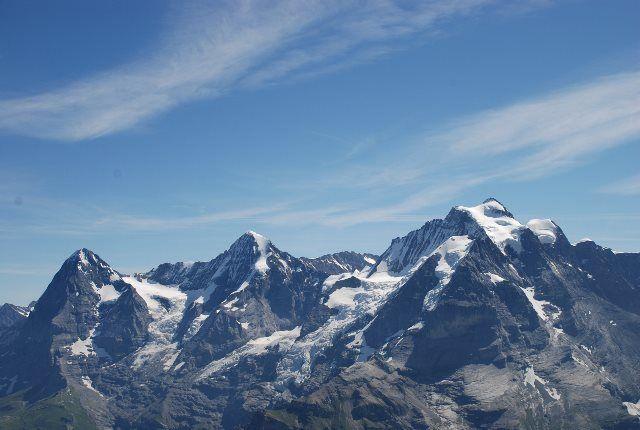 Vistas desde el Schilthorn