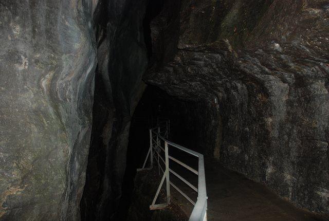 Túneles en Aareschlucht