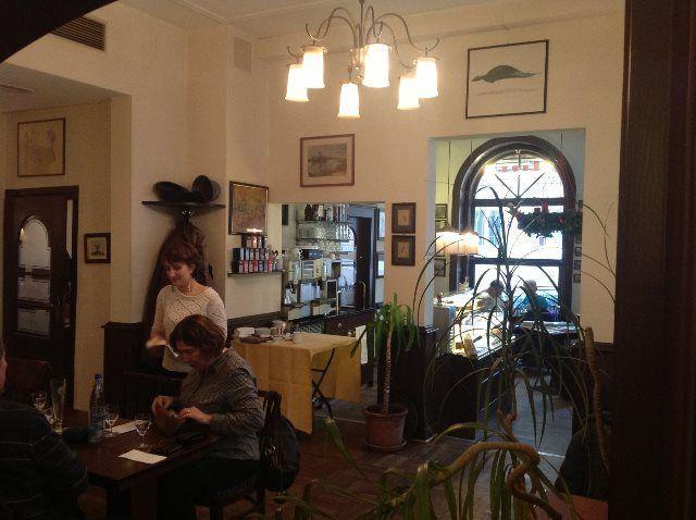 Ambiente clásico en el Café Knösel