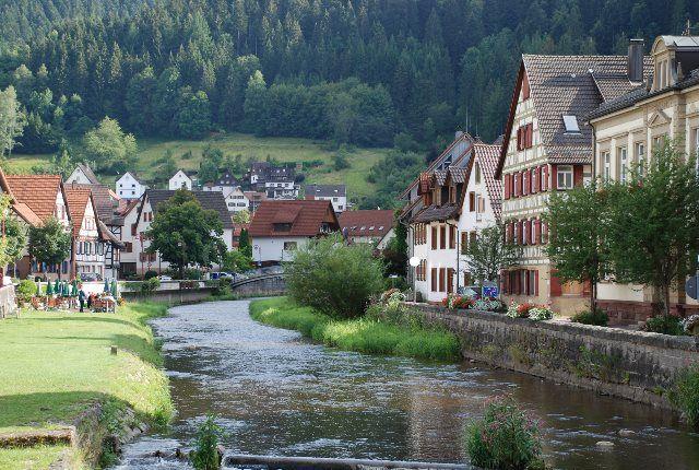 El río Schiltach