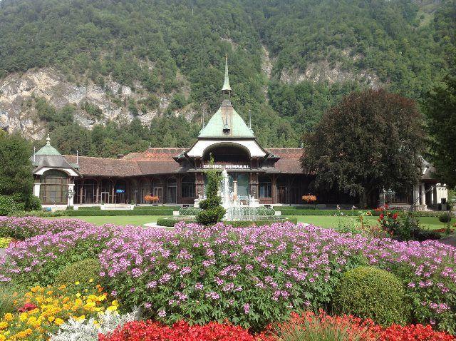 Jardines del casino Kursaal
