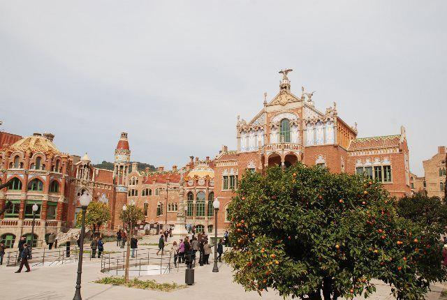 Los jardines de Sant Pau