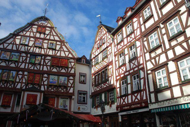 Plaza del mercado de Bernkastel