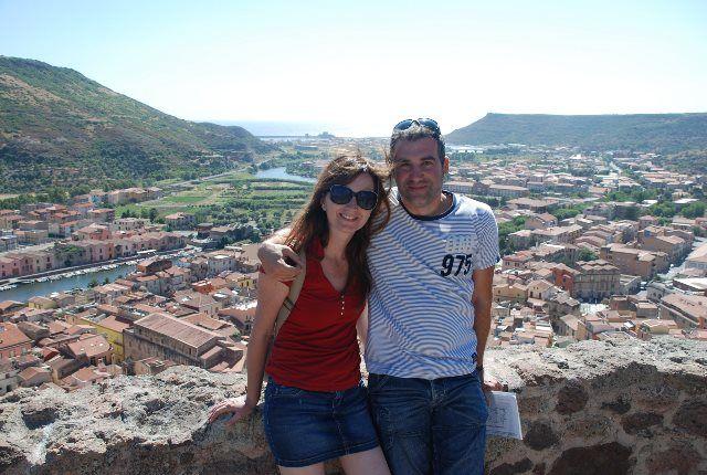 Vistas del río Temo desde el castillo