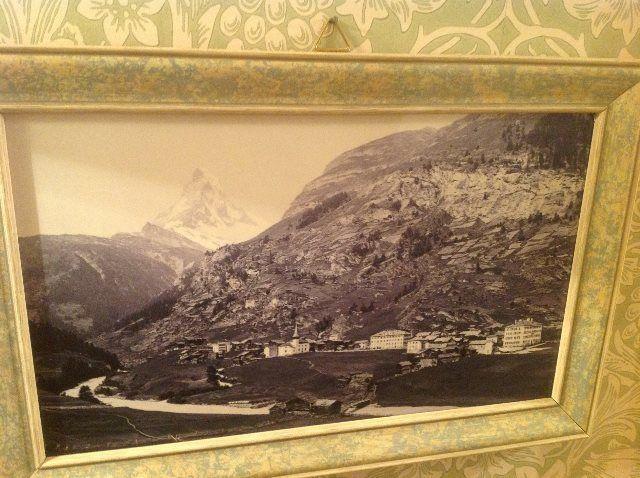 La aldea alpina de Zermatt